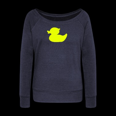 Rubber Duck - Women's Wideneck Sweatshirt