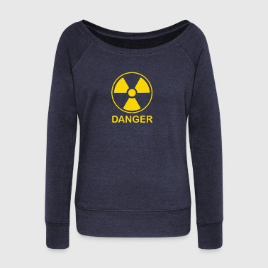 Radiation Symbol - Women's Wideneck Sweatshirt