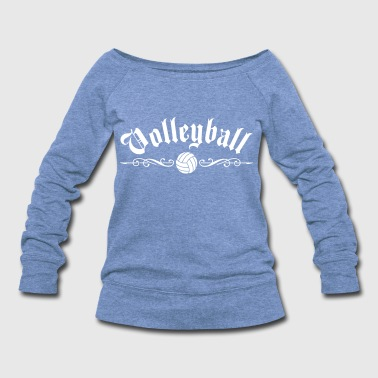 Volleyball - Women's Wideneck Sweatshirt
