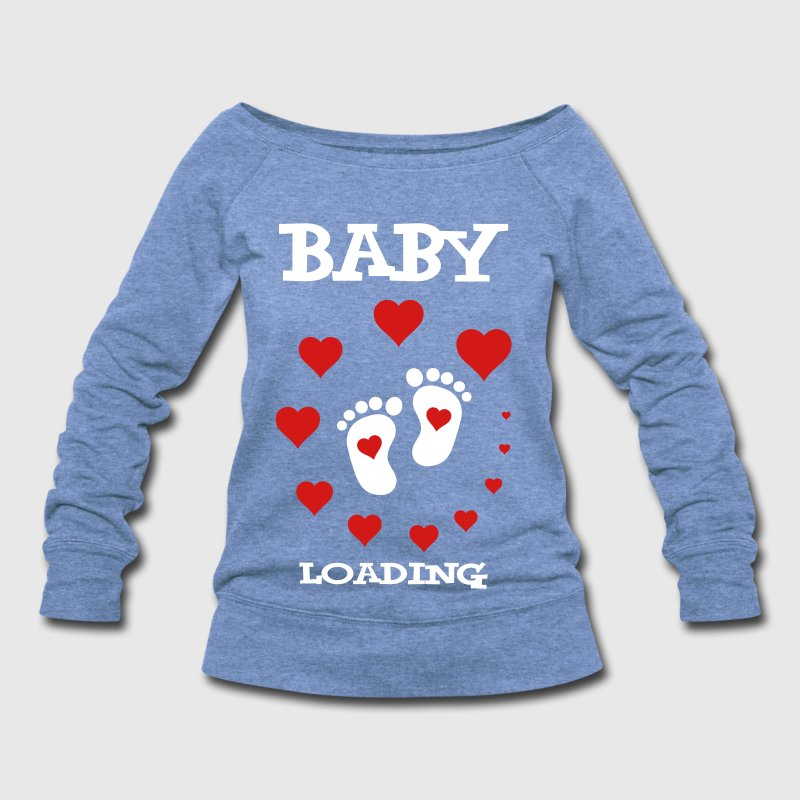 Baby Loading... - Women's Wideneck Sweatshirt