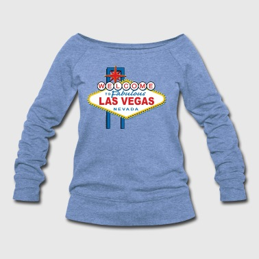 Welcome-to-Las-Vegas-Dist - Women's Wideneck Sweatshirt