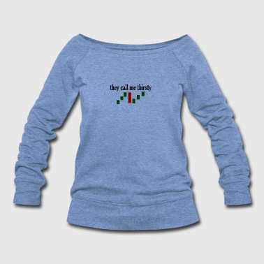 trading - Women's Wideneck Sweatshirt