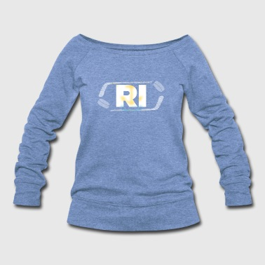 Hockey State Rhode Island - Women's Wideneck Sweatshirt
