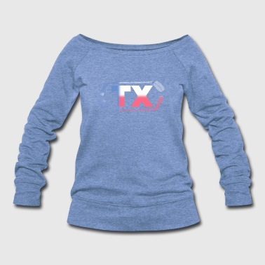 Hockey State Texas - Women's Wideneck Sweatshirt