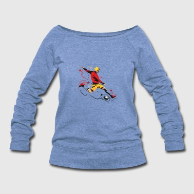 Kicker Kicker! - Women's Wideneck Sweatshirt