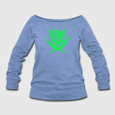 Decepticon Autobot and Decepticon symbols - Women's Wideneck Sweatshirt