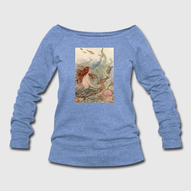 Mermaid Fantasy - Women's Wideneck Sweatshirt