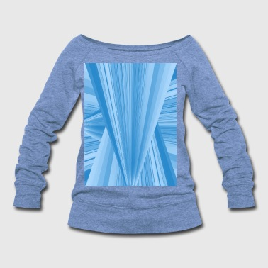 triangle - Women's Wideneck Sweatshirt