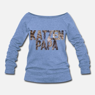 Cat Lady Cat Lover Cat Family Cat Parents Present My Cat - Women's Wideneck Sweatshirt
