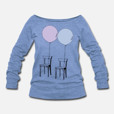 Party Day - Women's Wide-Neck Sweatshirt