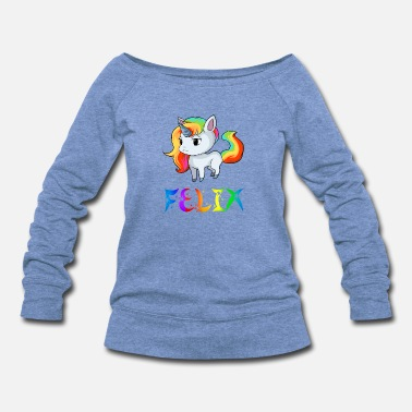 Felix Felix Unicorn - Women's Wideneck Sweatshirt