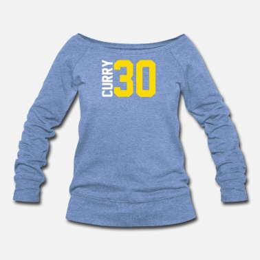 Curry Curry Steph Curry 30 - Women's Wideneck Sweatshirt