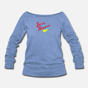 Ripper Jesse and the Rippers - Women's Wide-Neck Sweatshirt