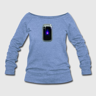Blue Light - Women's Wideneck Sweatshirt