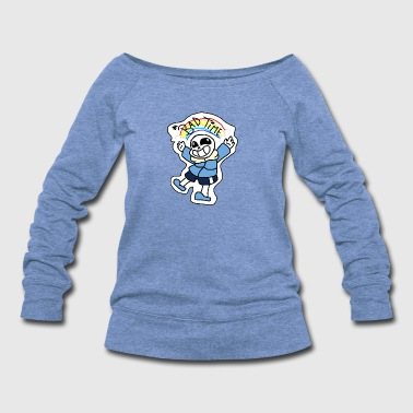 UNDERTALE SANS - Women's Wideneck Sweatshirt