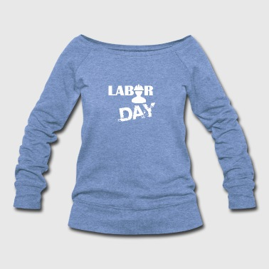 Labor Day Celebration - Women's Wideneck Sweatshirt