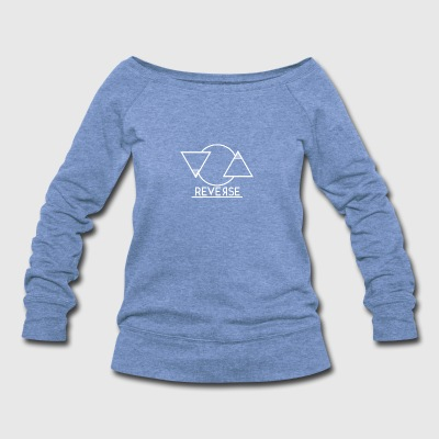 Reverse - Women's Wideneck Sweatshirt