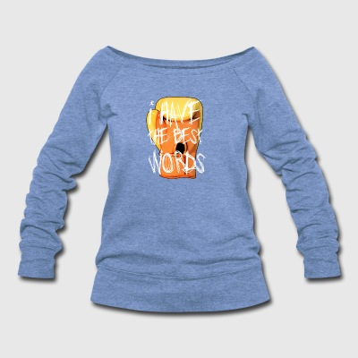 The Donald Glove - Women's Wideneck Sweatshirt