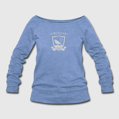 Uruguay World Football - Women's Wideneck Sweatshirt