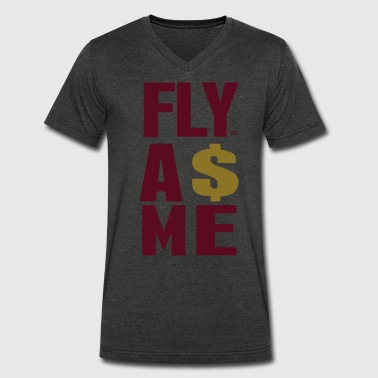 FLY AS ME - Men's V-Neck T-Shirt by Canvas