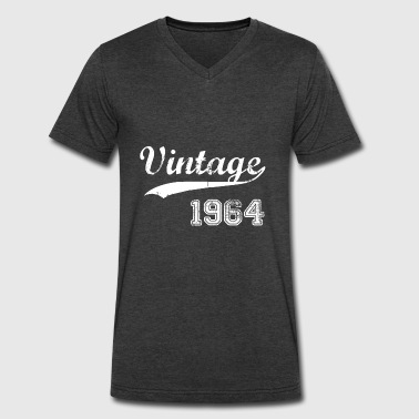 1964 Gift 1964 - Men's V-Neck T-Shirt by Canvas
