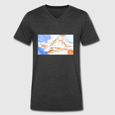 Land - Men's V-Neck T-Shirt by Canvas