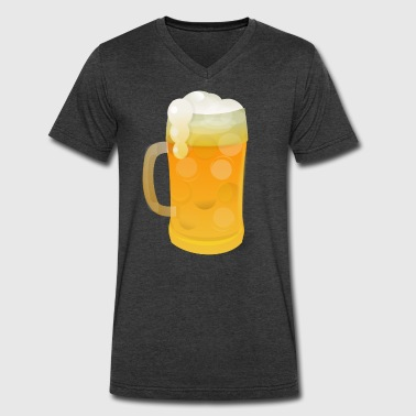Alcohol Beer alcohol beer - Men's V-Neck T-Shirt by Canvas