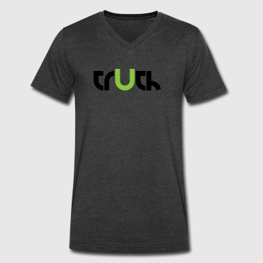 TRUTH. - Men's V-Neck T-Shirt by Canvas