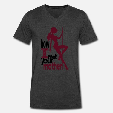 Nsfw-not-safe-for-work-men How I Met Your Mother - striptease version - Men's V-Neck T-Shirt