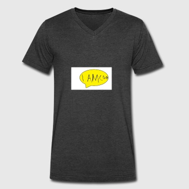 Untitled - Men's V-Neck T-Shirt by Canvas