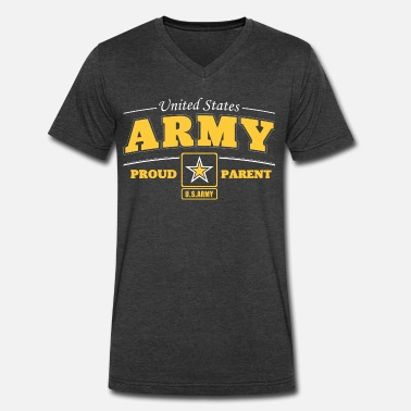 Army Parents United State Army Proud Parent - Men's V-Neck T-Shirt
