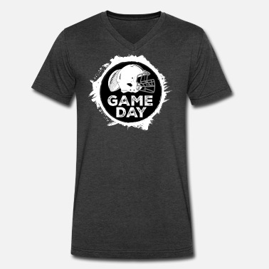High All Day GAME DAY Football College High School - Men's V-Neck T-Shirt