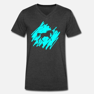 Horse Animal Horses Animal horse - Men's V-Neck T-Shirt by Canvas