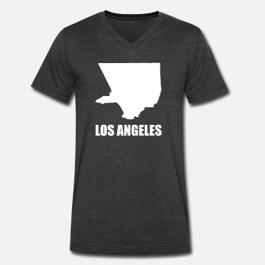 Adult Angels Los Angeles - Men's V-Neck T-Shirt by Canvas