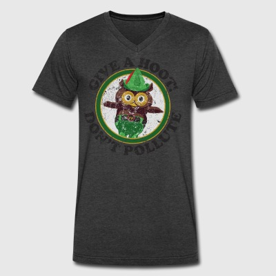 Woodsy the Owl - Men's V-Neck T-Shirt by Canvas