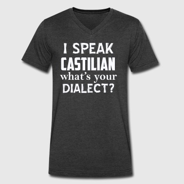 CASTILIAN dialect - Men's V-Neck T-Shirt by Canvas