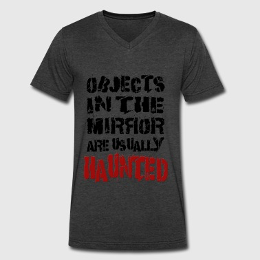 haunted-mirrors - Men's V-Neck T-Shirt by Canvas