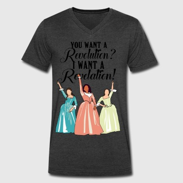 I want a Revelation! - Men's V-Neck T-Shirt by Canvas