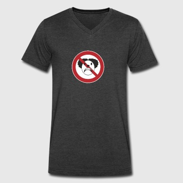 No Killer Clowns - Men's V-Neck T-Shirt by Canvas