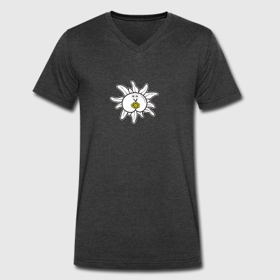 Assmex edelweiss - Men's V-Neck T-Shirt by Canvas