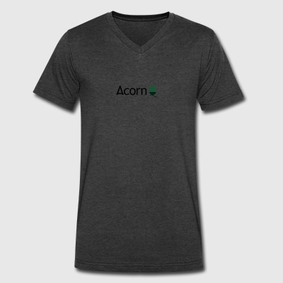 acorn uy7 97i7 - Men's V-Neck T-Shirt by Canvas