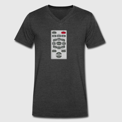Rude Remote Control - Men's V-Neck T-Shirt by Canvas