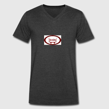 RYAN'S KEWL LOGO - Men's V-Neck T-Shirt by Canvas