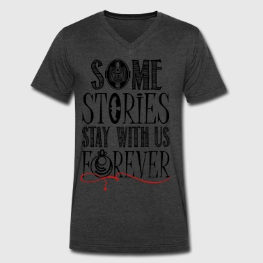 The Vampire Diaries. Some stories.. - Men's V-Neck T-Shirt by Canvas