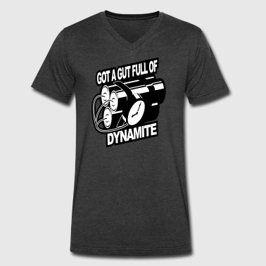 Got a Gut Full of Dynamite - Men's V-Neck T-Shirt by Canvas