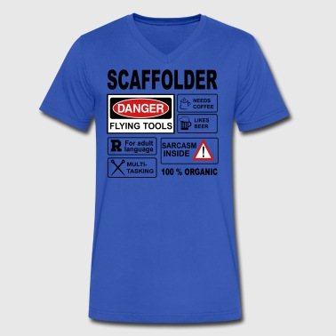 Scaffolder - Men's V-Neck T-Shirt by Canvas