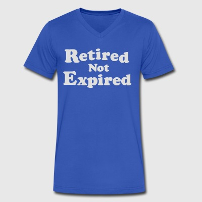 Retired Not Expired - Men's V-Neck T-Shirt by Canvas