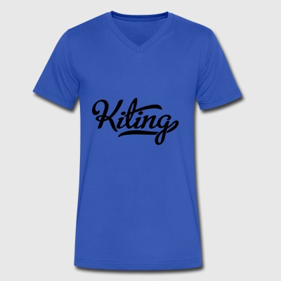 Kiting - Men's V-Neck T-Shirt by Canvas