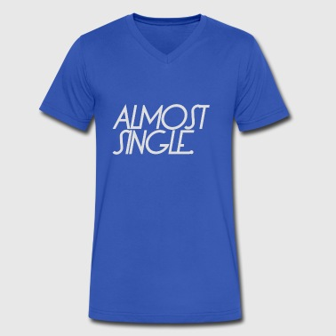 almost single divorce - Men's V-Neck T-Shirt by Canvas