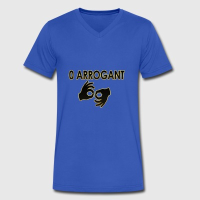 Null Arrogant 1 - Men's V-Neck T-Shirt by Canvas
